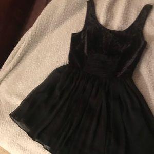 Black Velvet top dress